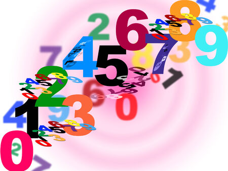 numeracy: Numbers Maths Showing Numeracy Numeric And Backgrounds