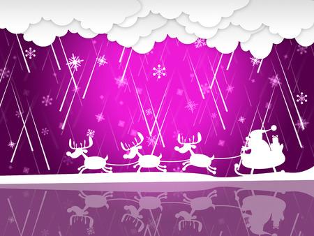 squall: Santa Rain Meaning Merry Xmas And Precipitation