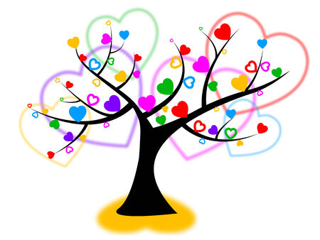 reforestation: Heart Tree Meaning Valentine Day And Reforestation