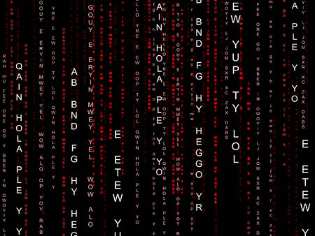 encrypted: Background Matrix Meaning High Tech And High-Tech