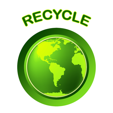 earth friendly: World Recycle Meaning Earth Friendly And Environment