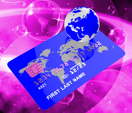 bankcard: Credit Card Meaning Globalize Planet And Bankcard