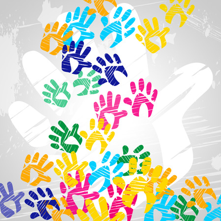 handprints: Handprints Color Meaning Watercolor Child And Multicolored