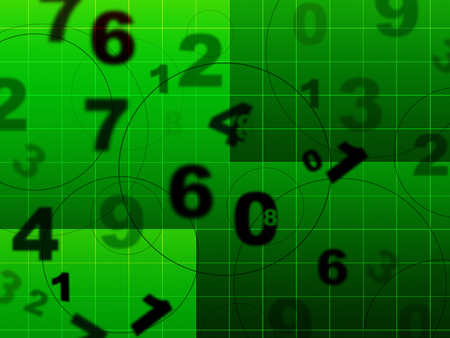 numeracy: Grid Education Representing Count Numeracy And Tutoring