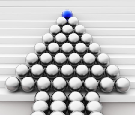sphere of influence: Spheres Leader Indicating Team Work And Organization
