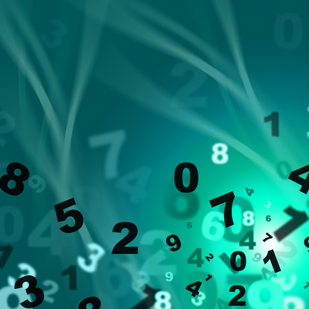 lernte: Numbers Maths Showing Numeric College And Learned