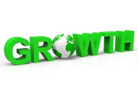 financial growth: Financial Growth Representing Develop Improve And Income