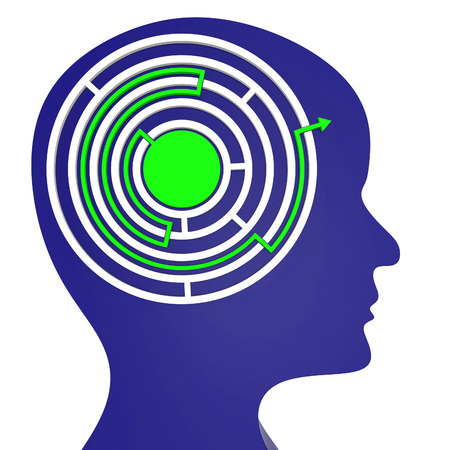 consideration: Maze Think Meaning Complicated Contemplate And Consideration