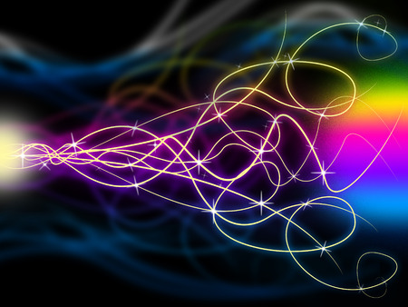 squiggles: Squiggles Background Meaning Swirly Lines At Night