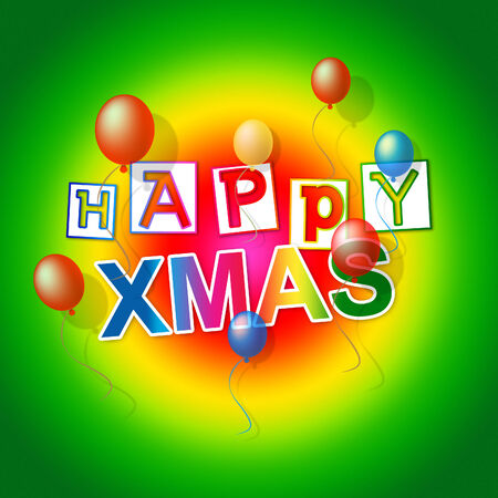 happy xmas meaning merry christmas and festive stock photo picture and royalty free image image 29632042 - Merry Christmas Meaning
