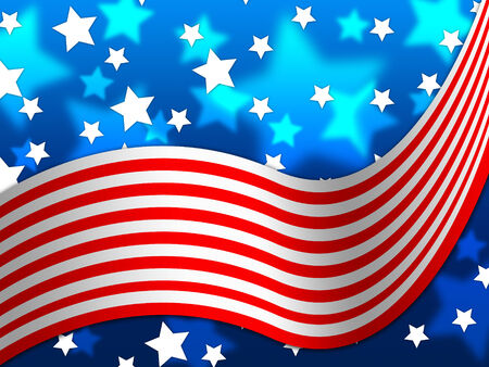 national identity: American Flag Background Senso nazionale Proud And Identity Archivio Fotografico