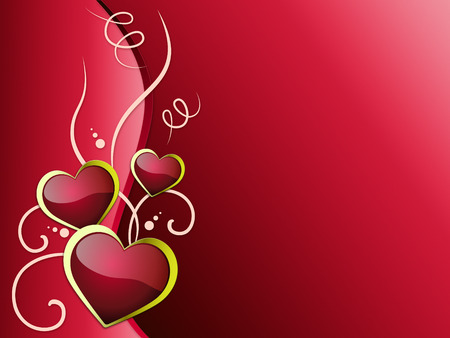 romanticism: Hearts Background Meaning Romanticism  Passion And Love