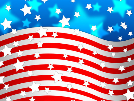 national identity: Amercican Flag Background Meaning Country Pride And America  Stock Photo