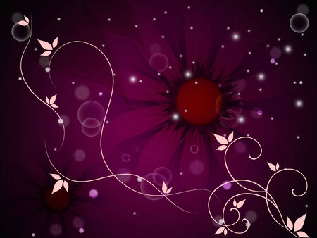Flower Background Meaning Bud Blossom And Grow