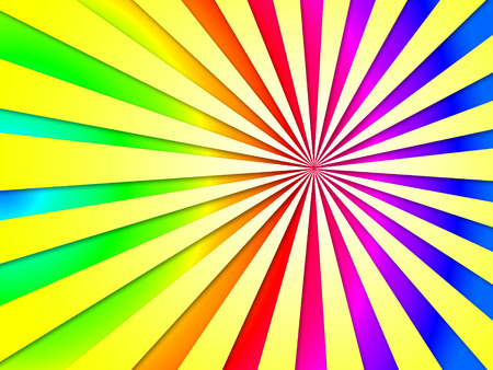 dizziness: Colourful Dizzy Striped Tunnel Background Showing Dizzy Illustration Or Dizziness Wallpaper