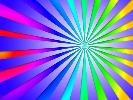 Colourful Dizzy Striped Tunnel Background Meaning Dizzy Abstraction Perspective