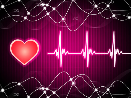 Purple Heart Background Meaning Heart Rate Fitness And Double Helix  photo