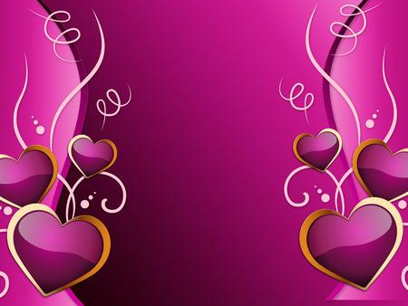 atracci�n: Fondo de los corazones Significado Romance de atracci�n y de la boda