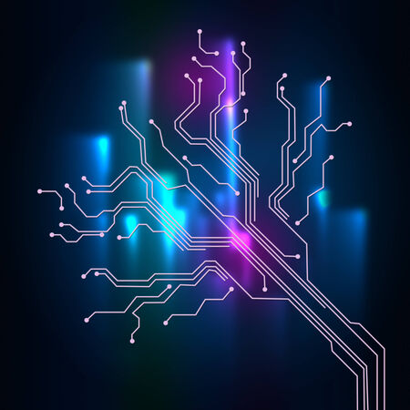 means: Contact Links Background Means Connectivity And Circuit Wires