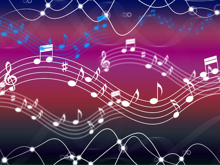 hymn: Music Background Showing Musical Song And Harmony