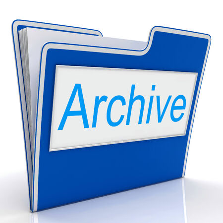 archiving: Archive File Indicating Archiving Backup And Catalogue
