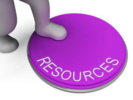 Switch Resources Representing Finances Button And Capital