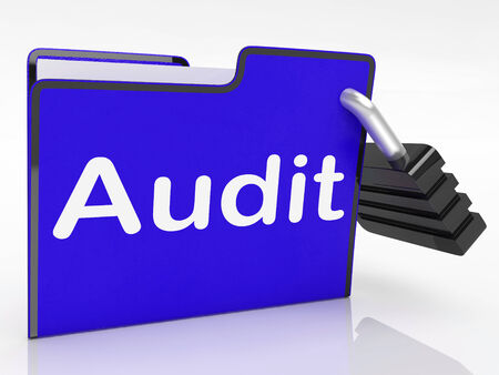 auditing: Audit Files Meaning Auditing Inspection And Paperwork