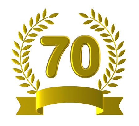 seventieth: Seventieth Birthday Meaning Happy Anniversary And 70Th
