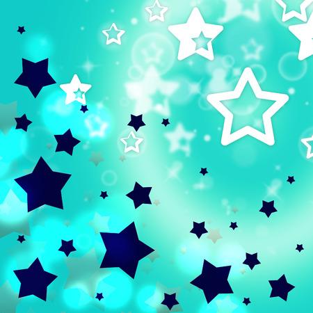 dazzling: Background Stars Indicating Light Burst And Dazzling Stock Photo