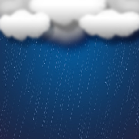 precipitate: Rain Clouds Showing Washing Line And Rained