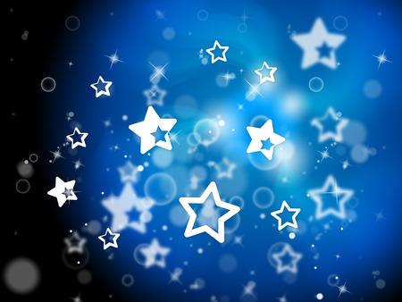 light burst: Stars Hintergrund Anzeige Light Burst Und Hintergrund Lizenzfreie Bilder