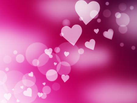 light burst: Hintergrund Herzen Zeige Light Burst und Romantik Lizenzfreie Bilder