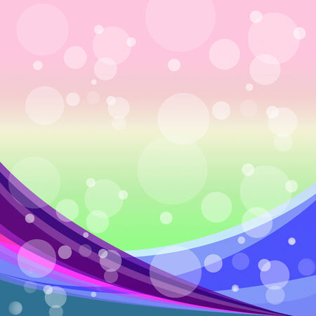 twirling: Pastel Color Representing Blank Space And Twirling