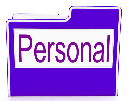 confidentially: File Personal Representing Personally Correspondence And Organization