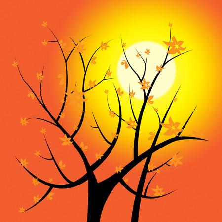 light burst: Glow Baum Anzeige Light Burst Und Zweig