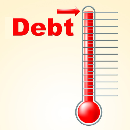 debit card: Credit Thermometer Meaning Debit Card And Owed