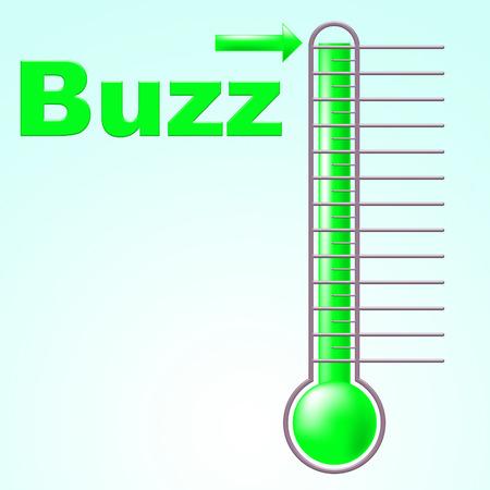 zichtbaarheid: Buzz Thermometer Aanduiden Temperatuur Zichtbaarheid en aandacht