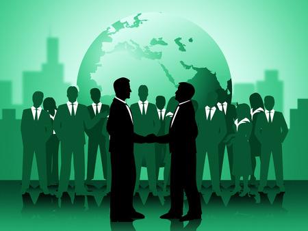 work together: