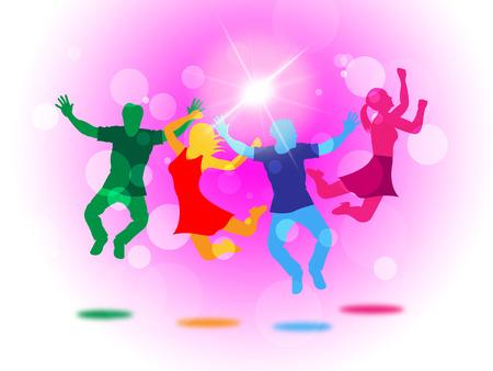 light burst: Joy Glow Vertretung Light Burst und Jugendliche
