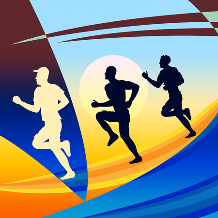 get a workout: Exercise Jogging Meaning Get Fit And Aerobic