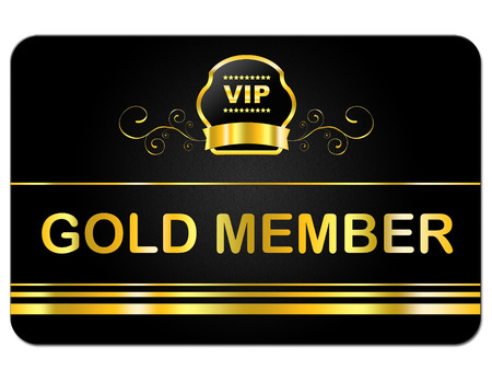 First Class Meaning Very Important Person And Membership Card 스톡 콘텐츠