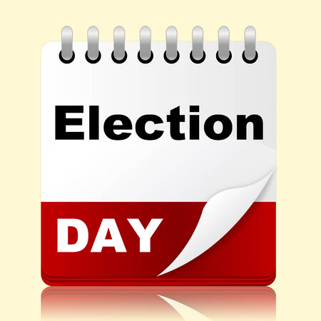 poll: Election Day Representing Month Poll And Appointment
