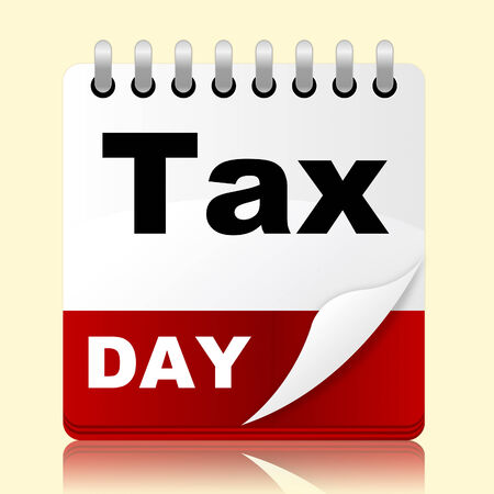 excise: Tax Day Representing Excise Duty And Event