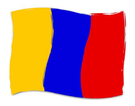 columbian: Columbian Flag Representing South American And Patriot
