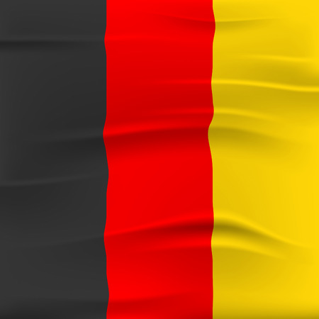 germanic: Germany Flag Meaning Patriotic European And Germanic Stock Photo