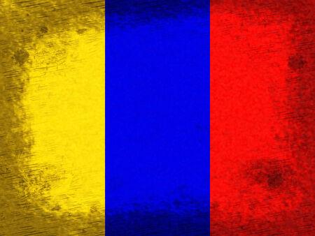 columbian: Flag Copyspace Representing South America And Columbian