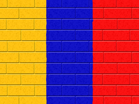 columbian: Columbian Flag Showing South American And Exterior
