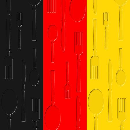 comida alemana: Comida alemana Representando Eatery Alimentos Y Cafe
