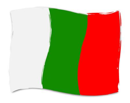 nation: Bulgarian Flag Indicating Nation Nationality And Patriot Stock Photo
