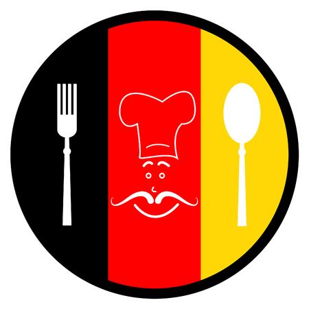 germanic: Food Germany Showing Germanic European And Restaurants Stock Photo